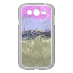 Abstract Garden In Pastel Colors Samsung Galaxy Grand Duos I9082 Case (white) by digitaldivadesigns