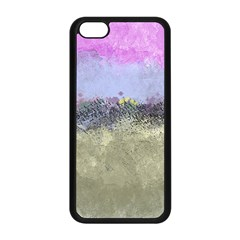 Abstract Garden In Pastel Colors Apple Iphone 5c Seamless Case (black) by theunrulyartist