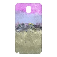 Abstract Garden In Pastel Colors Samsung Galaxy Note 3 N9005 Hardshell Back Case