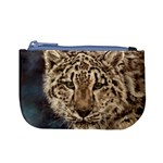 Snow Leopard Coin Change Purse