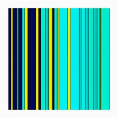 Hot Stripes Aqua Medium Glasses Cloth (2 Side)