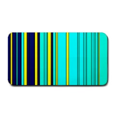 Hot Stripes Aqua Medium Bar Mats