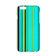 Hot Stripes Aqua Apple Iphone 6/6s Hardshell Case by ImpressiveMoments
