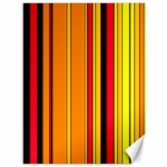 Hot Stripes Fire Canvas 36  X 48   by ImpressiveMoments