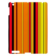 Hot Stripes Fire Apple Ipad 3/4 Hardshell Case by ImpressiveMoments