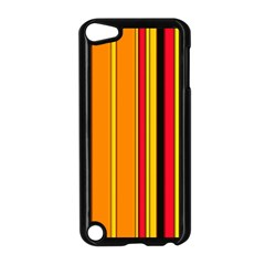 Hot Stripes Fire Apple Ipod Touch 5 Case (black) by ImpressiveMoments