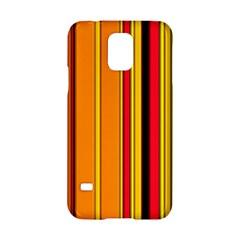Hot Stripes Fire Samsung Galaxy S5 Hardshell Case  by ImpressiveMoments