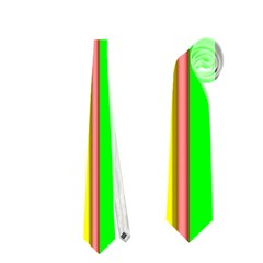 Hot Stripes Rainbow Neckties (two Side)