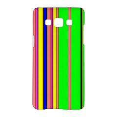 Hot Stripes Rainbow Samsung Galaxy A5 Hardshell Case  by ImpressiveMoments