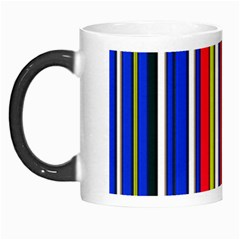 Hot Stripes Red Blue Morph Mugs by ImpressiveMoments