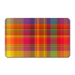 Plaid, Hot Magnet (rectangular) by ImpressiveMoments
