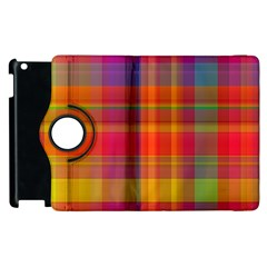 Plaid, Hot Apple Ipad 2 Flip 360 Case by ImpressiveMoments