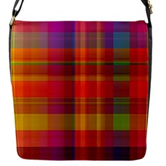 Plaid, Hot Flap Messenger Bag (s) by ImpressiveMoments