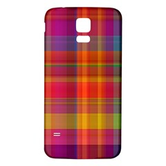 Plaid, Hot Samsung Galaxy S5 Back Case (white) by ImpressiveMoments