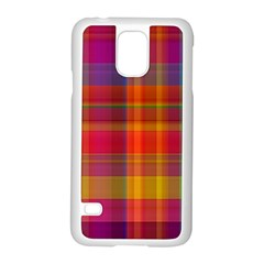 Plaid, Hot Samsung Galaxy S5 Case (white) by ImpressiveMoments