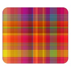 Plaid, Hot Double Sided Flano Blanket (small)  by ImpressiveMoments