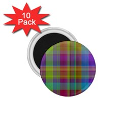 Plaid, Cool 1 75  Magnets (10 Pack)  by ImpressiveMoments