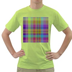 Plaid, Cool Green T Shirt by ImpressiveMoments