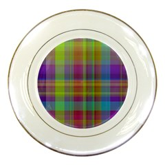 Plaid, Cool Porcelain Plates by ImpressiveMoments