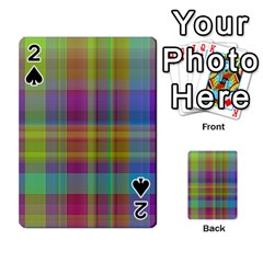 Plaid, Cool Playing Cards 54 Designs