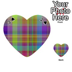 Plaid, Cool Playing Cards 54 (heart)