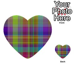Plaid, Cool Multi Purpose Cards (heart)