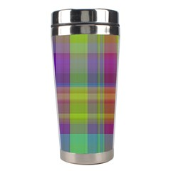 Plaid, Cool Stainless Steel Travel Tumblers by ImpressiveMoments
