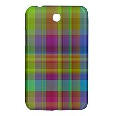 Plaid, Cool Samsung Galaxy Tab 3 (7 ) P3200 Hardshell Case  by ImpressiveMoments