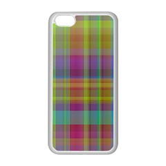 Plaid, Cool Apple Iphone 5c Seamless Case (white) by ImpressiveMoments