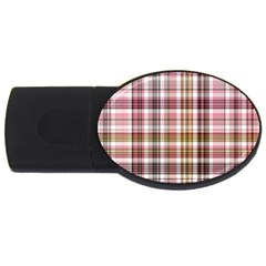 Plaid, Candy Usb Flash Drive Oval (2 Gb)  by ImpressiveMoments