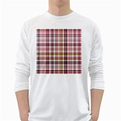Plaid, Candy White Long Sleeve T Shirts by ImpressiveMoments