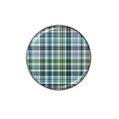 Plaid Ocean Hat Clip Ball Marker (4 Pack) by ImpressiveMoments