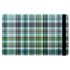 Plaid Ocean Apple Ipad 3/4 Flip Case by ImpressiveMoments