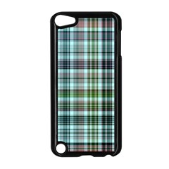 Plaid Ocean Apple Ipod Touch 5 Case (black) by ImpressiveMoments