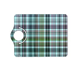 Plaid Ocean Kindle Fire Hd (2013) Flip 360 Case by ImpressiveMoments