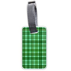 Plaid Forest Luggage Tags (two Sides) by ImpressiveMoments