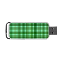 Plaid Forest Portable Usb Flash (one Side) by ImpressiveMoments