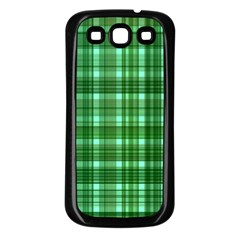 Plaid Forest Samsung Galaxy S3 Back Case (black) by ImpressiveMoments