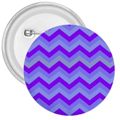 Chevron Blue 3  Buttons by ImpressiveMoments