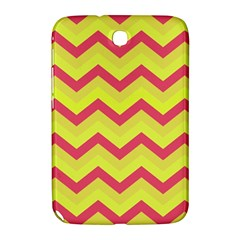 Chevron Yellow Pink Samsung Galaxy Note 8 0 N5100 Hardshell Case  by ImpressiveMoments