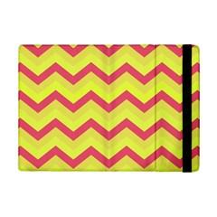 Chevron Yellow Pink Ipad Mini 2 Flip Cases by ImpressiveMoments