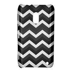 Chevron Dark Gray Nokia Lumia 620 by ImpressiveMoments