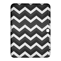 Chevron Dark Gray Samsung Galaxy Tab 4 (10 1 ) Hardshell Case  by ImpressiveMoments