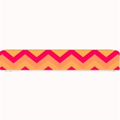 Chevron Peach Small Bar Mats by ImpressiveMoments
