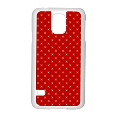 Cute Seamless Tile Pattern Gifts Samsung Galaxy S5 Case (white) by creativemom