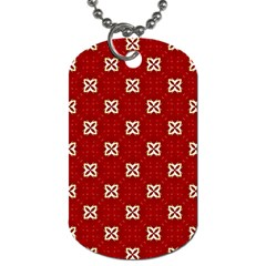 Cute Seamless Tile Pattern Gifts Dog Tag (One Side) by creativemom