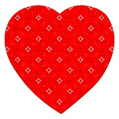 Cute Seamless Tile Pattern Gifts Jigsaw Puzzle (heart) by creativemom