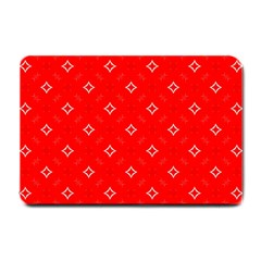 Cute Seamless Tile Pattern Gifts Small Doormat  by creativemom