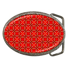 Cute Seamless Tile Pattern Gifts Belt Buckles