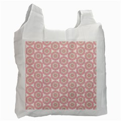 Cute Seamless Tile Pattern Gifts Recycle Bag (one Side) by creativemom